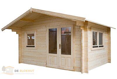 Blokhut 4x4 Interflex - 410x410cm - 50mm