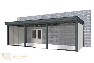 Hillhout Buitenverblijf aan huis Premium - 743x307cm