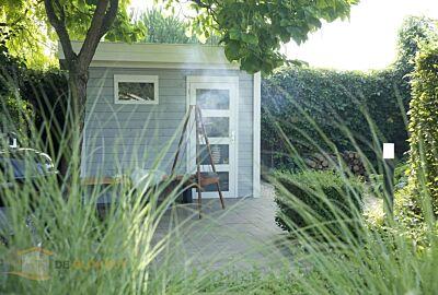 Hillhout tuinhuis Bonte kraai