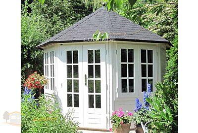 Tuinhuis Lugarde Achtkant Prima Louisa  P88- Ø300cm - 28mm