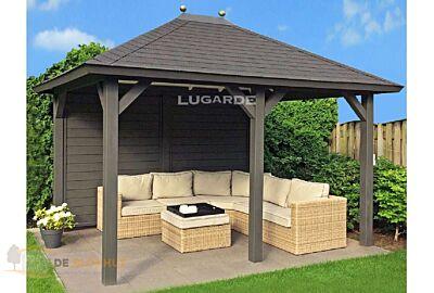 Vrijstaande veranda Lugarde VV5 - 300x360cm in 28mm