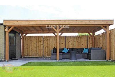 Vrijstaande veranda Lugarde VV1 - 240x600cm