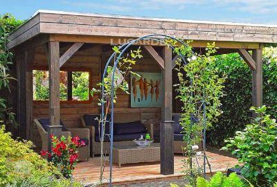 Vrijstaande veranda Lugarde VV6 - 300x360cm in 28mm