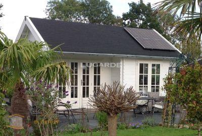Lugarde Blokhut B66 recreatiewoning Deblokhut.nl