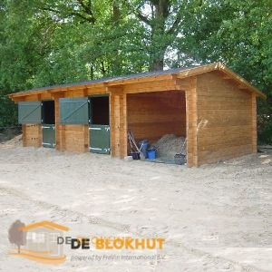 Paardenstal Trio Interflex Deblokhut.nl