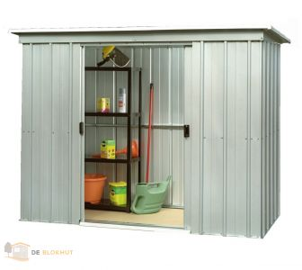 Metalen tuinhuisje Yardmaster PZ 298 x 119 cm.