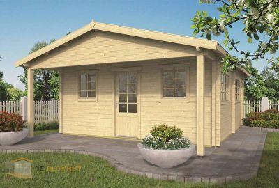 Hillhout tuinhuis Adelaide 306x306 Douglas