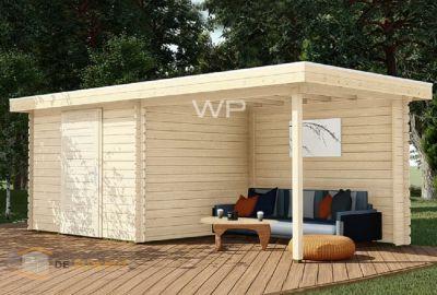 WoodPro blokhut-28002-Vincenca