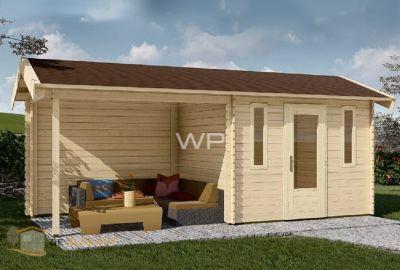WoodPro blokhut-28013-Walvis