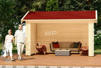 WoodPro blokhut-28026-Gemini
