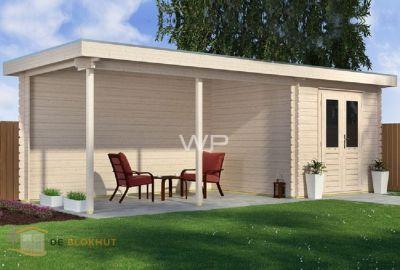 Woodpro blokhut25185-Messina