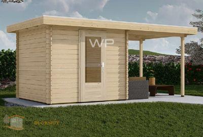 WoodPro blokhut 28001 Pistoria