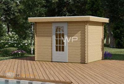 Woodpro blokhut 28007-Aquila