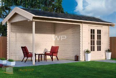 Woodpro blokhut Lesse 25102