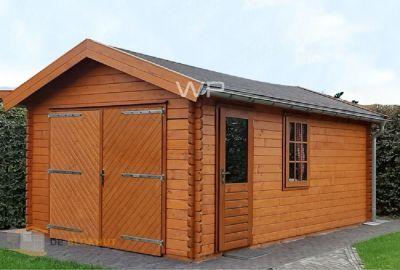 Woodpro Houten Garage Het Woold 27363 deblokhut.nl