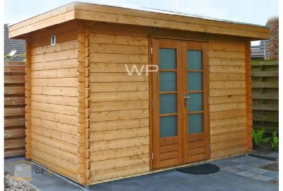 Woodpro houten garage Het Woold 27400 Deblokhut.nl