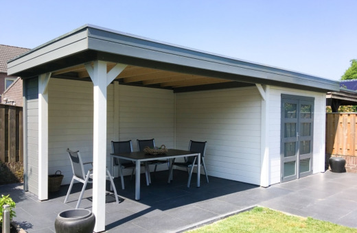 10% korting  op Topvision tuinhuizen t/m 27-06-2021